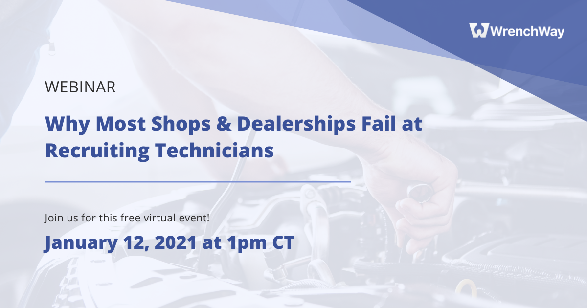 Free webinar by WrenchWay