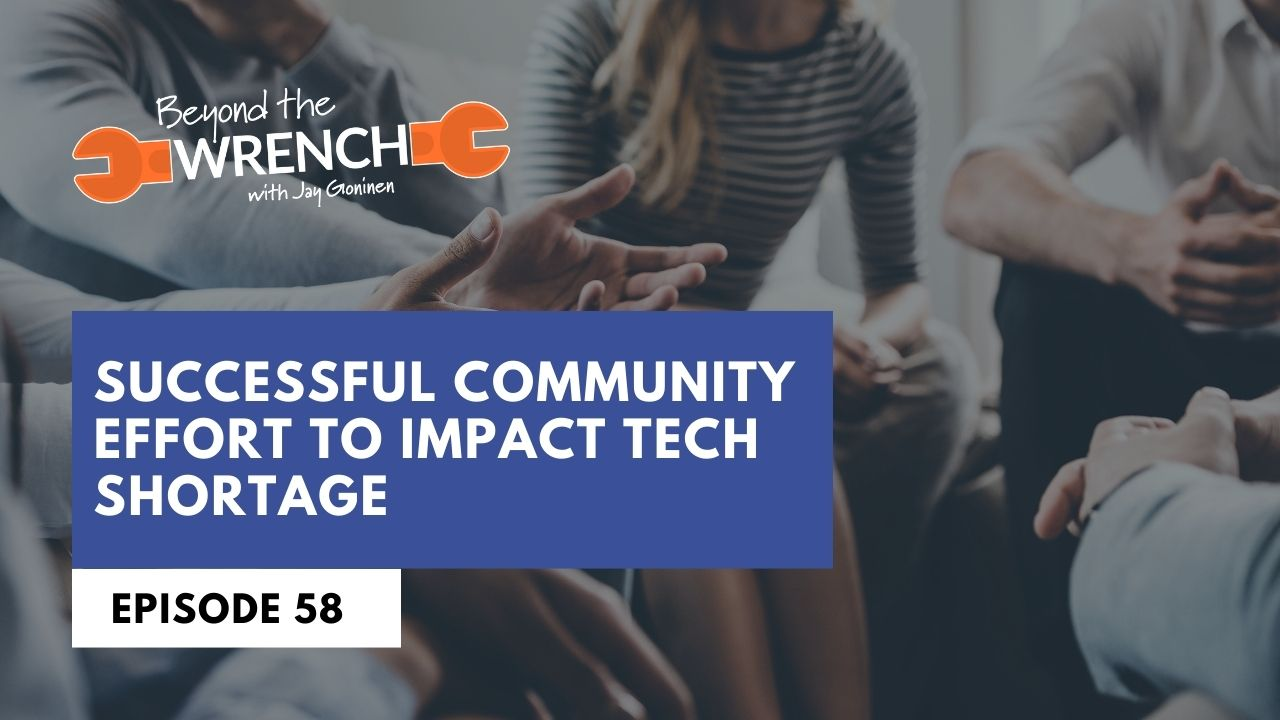 beyond the wrench episode successful community effort to impact tech shortage