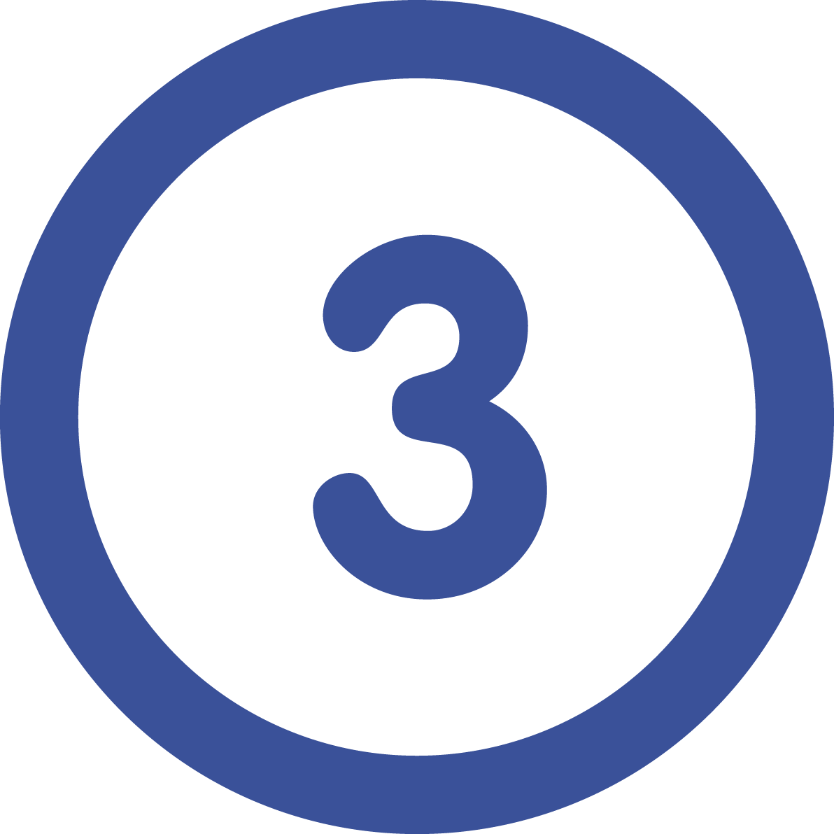 Number 3 designed by Freepik from Flaticon