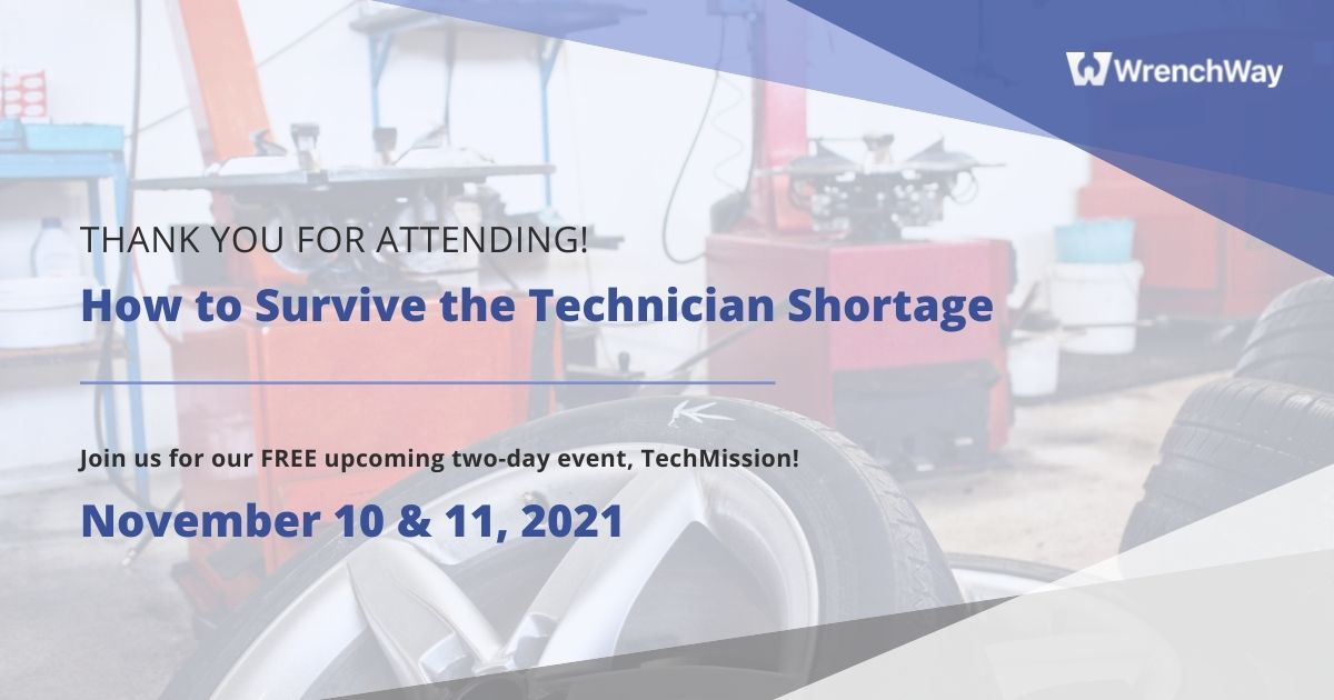 How to Survive the Technician Shortage