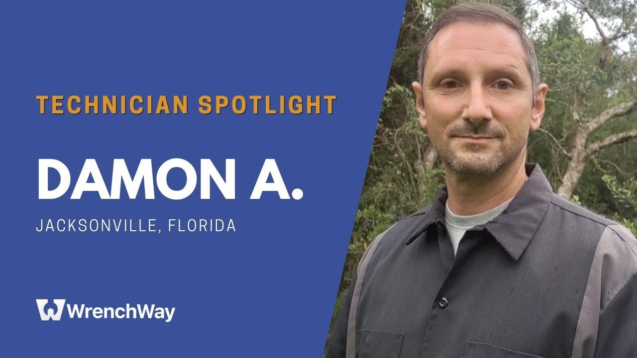 Technician Spotlight Series: Damon A.